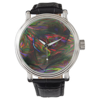 Abstract Woman Two Watch