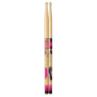 Abstract Woman W/ Attitude Art Drumsticks