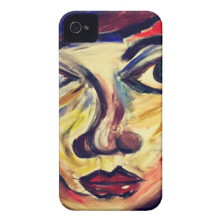 Abstract woman's face iPhone 4 cover