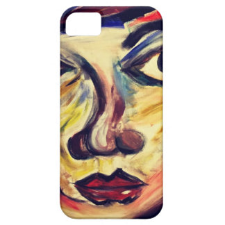 Abstract woman's face iPhone 5 cover