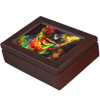 Abstract Women Keepsake Box