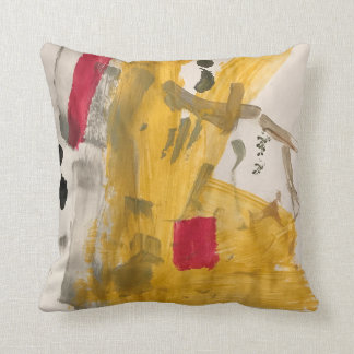 Abstract Works by Shanta Throw Pillow
