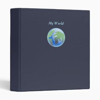 Abstract World Binder
