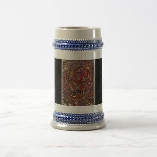Abstract Worlds 18 Oz Beer Stein