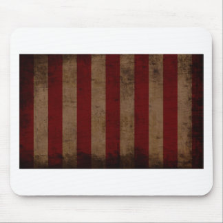 Abstract Worn American Flag Mouse Pad