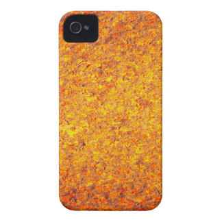 Abstract yellow orange rusty metal surface iPhone 4 cover