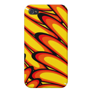 abstract yellow sunflowers iPhone 4 Speck Cover For iPhone 4