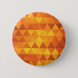 Abstract Yellow Triangles 2 Inch Round Button