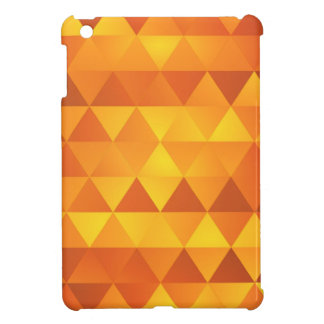 Abstract Yellow Triangles Case For The iPad Mini