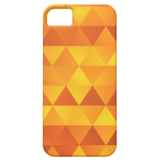 Abstract Yellow Triangles iPhone 5 Cases