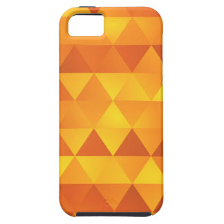 Abstract Yellow Triangles iPhone 5 Covers