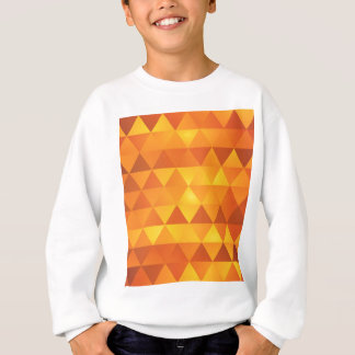 Abstract Yellow Triangles Sweatshirt