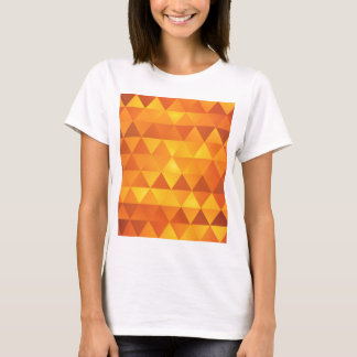Abstract Yellow Triangles T-Shirt
