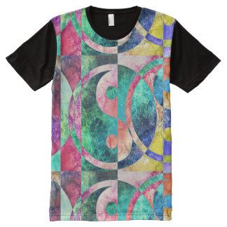 Abstract Yin Yang Nebula All over Shirt