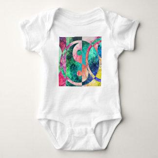 Abstract Yin Yang Nebula Baby Bodysuit