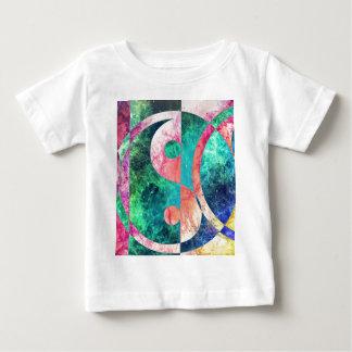 Abstract Yin Yang Nebula Baby T-Shirt