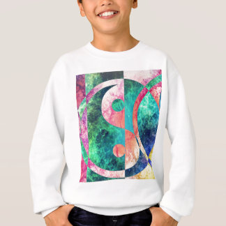 Abstract Yin Yang Nebula Sweatshirt