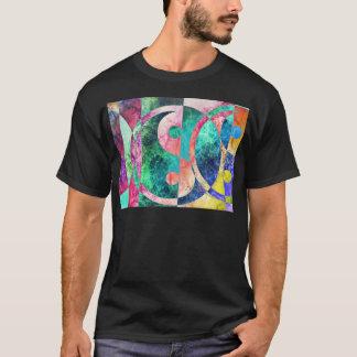 Abstract Yin Yang Nebula T-Shirt