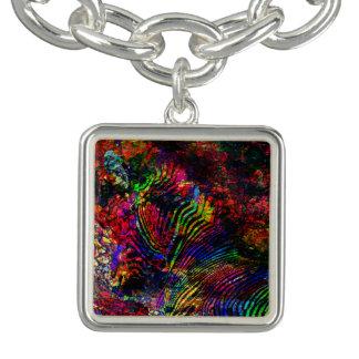 Abstract Zebra Bracelet