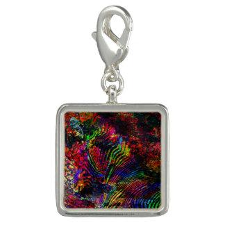Abstract Zebra Charm