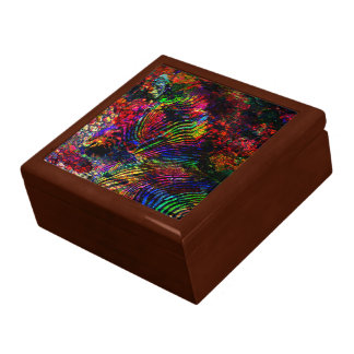 Abstract Zebra Gift Box
