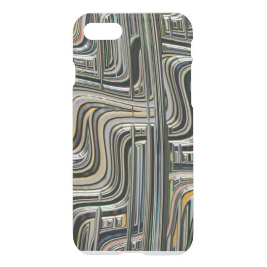 Abstract Zig Zag Lines iPhone 8/7 Case