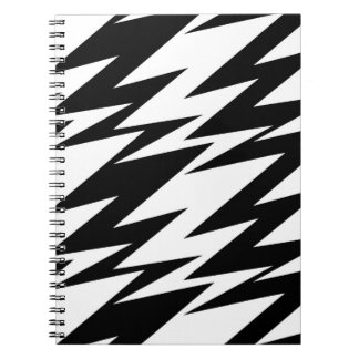 Abstract Zigzag Notebook