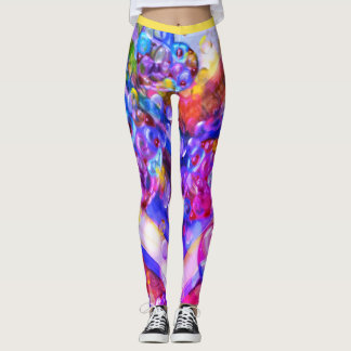 Abstracted Love Leggings
