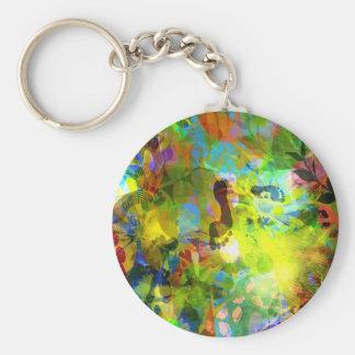 AbstractFeet Keychain