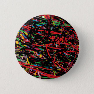 Abstractia 2 Inch Round Button