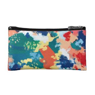 Abstraction 17 makeup bag