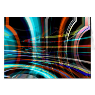 Abstraction #2 greeting card