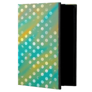 Abstraction Art Blue  And Brown White Polka Dots Powis iPad Air 2 Case