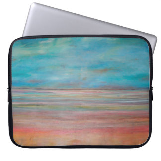 Abstraction Art Reflection On Silence Laptop Computer Sleeves
