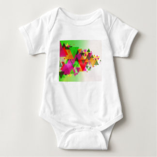 abstraction baby bodysuit