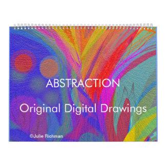 ABSTRACTION calendar