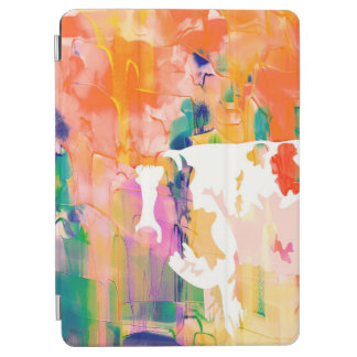 Abstraction Cow Watercolor Silhouette iPad Air Cover