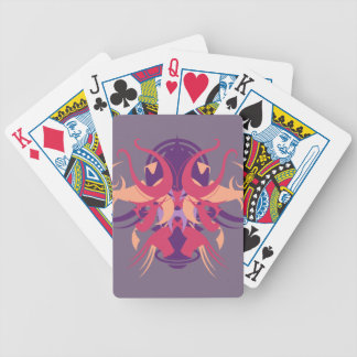 Abstraction Eight Dolos Bicycle Playing Cards