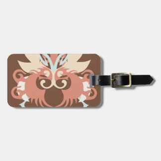 Abstraction Five Tlaloc Bag Tag