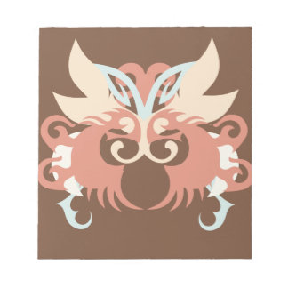 Abstraction Five Tlaloc Notepad