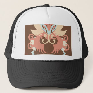 Abstraction Five Tlaloc Trucker Hat