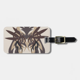 Abstraction Four Terra Luggage Tag