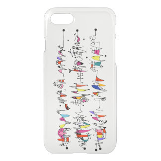 Abstraction from undulating lines iPhone 8/7 case