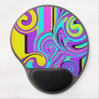 Abstraction Gel Mouse Pad