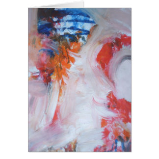 Abstraction Greeting Card