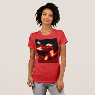 Abstraction in a red circle T-Shirt