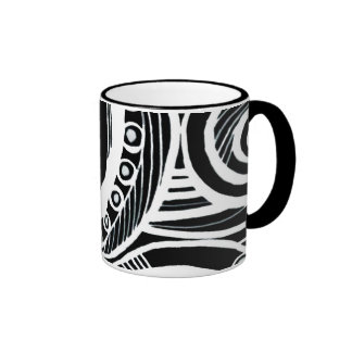 Abstraction Ringer Coffee Mug