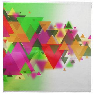 abstraction napkin