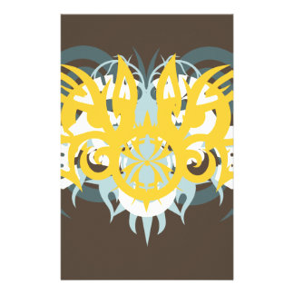 Abstraction Nine Imperious Customized Stationery