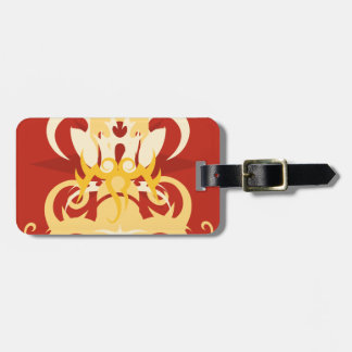 Abstraction One Osiris Luggage Tag